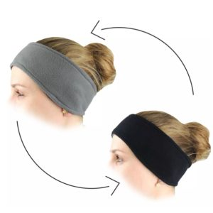 PROTETOR DE ORELHA UNISSEX HEADBAND DUPLA FACE THERMO FLEECE